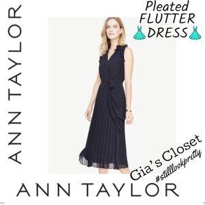 NWT/ANN TAYLOR FLUTTER DRESS